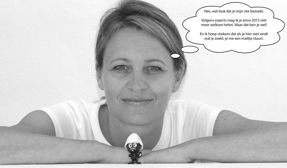 Karen Romme met welkomstwoord op Karenromme.nl