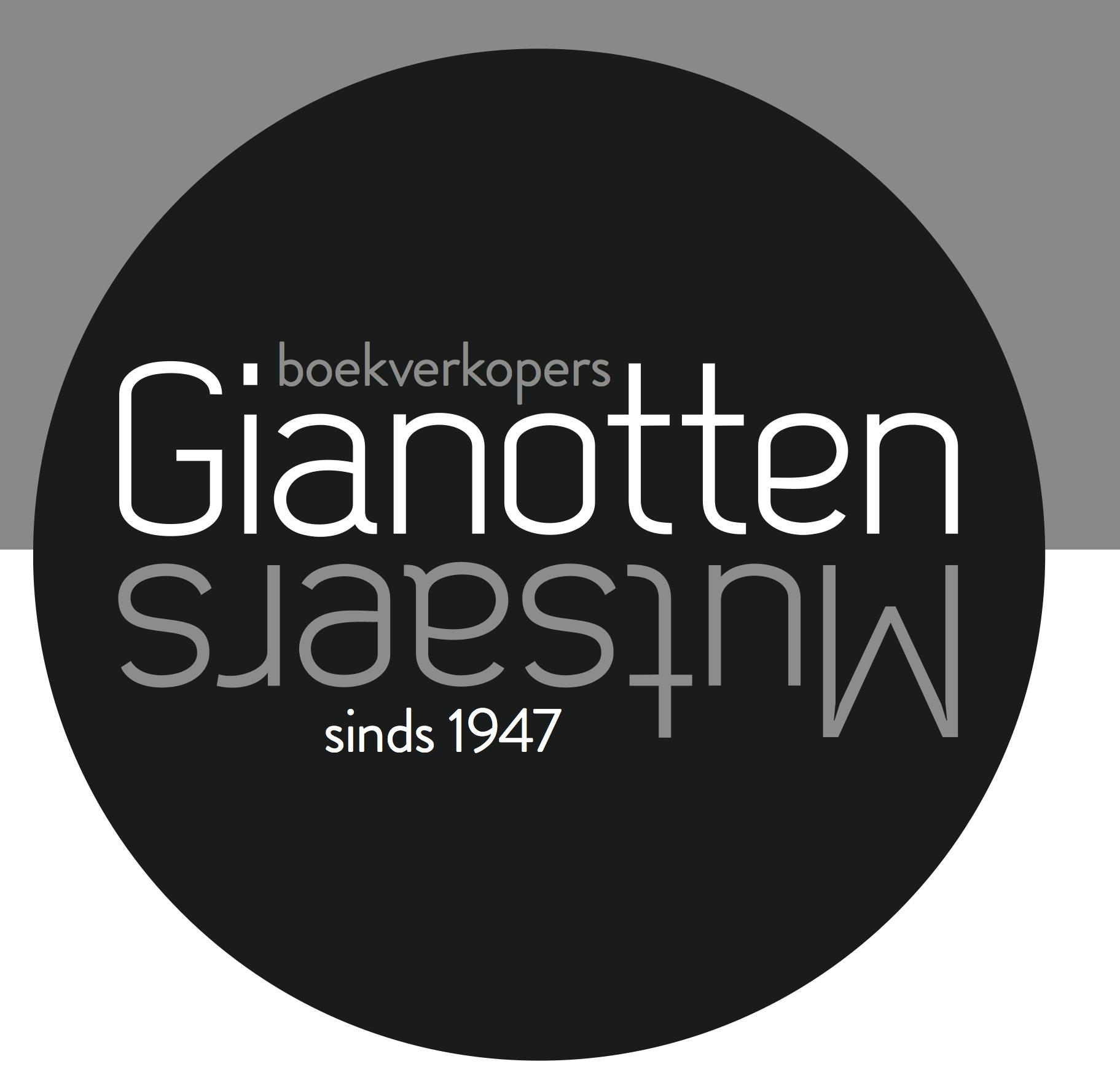 logo boekhandel gianotten mutsaers door Kamiel Koudijs